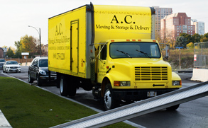 AC Moving Vehicle Truck